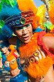 Un passista, el personaje más sexy del carnaval brasileño — Foto de Stock