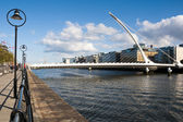 The Samuel Beckett Bridge. — Stock Photo
