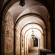 Archway in Monastery — Stock Photo