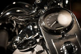 Motorcycle Close-up — Stock Photo
