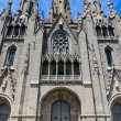 Sacred Heart Church Temple de Sagrat Cor in Barcelona - Stock Photo
