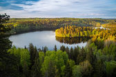 Lake View in Finland — Stock Photo