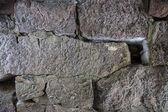 Stone Wall Closeup — Stock Photo