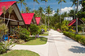 Bungalows in Thailand — Stock Photo