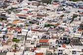 Rooftops in Lindos — Stock Photo