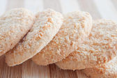Cookies with coconut — Stock Photo