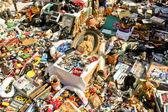 Flea market — Stock Photo