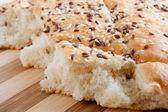 Focaccia di pane italiano — Foto Stock