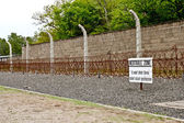 Sachsenhausen concentration camp — Stock Photo