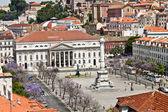 Rossio square in Lisbon — Stock Photo