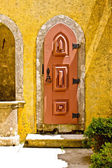 Door in Pena palace, Portugal — Foto Stock