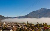 Austrian village St. Gilgen — Stock Photo