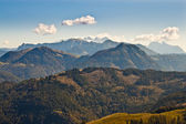View of mountains in austrian Alps — Stock Photo