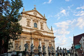Saints Peter and Paul Church in Krakow — Stock Photo