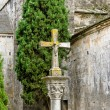 Foto Stock: Stone cross