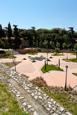 Park of Emir Mohamed I in Madrid — Stock Photo