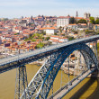 Dom Luis Bridge in Porto — Stock Photo