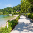 Stock Photo: Fuschl am See