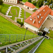 Funicular in Vilnius — Stock Photo