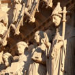 Notre Dame de Paris, sculptures — Stock Photo