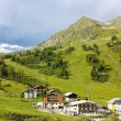 Alpine resort in Austria — Stock Photo