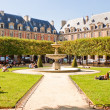 Stock Photo: Place des Vosges, Paris