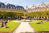 Place des Vosges, Paris — Stock Photo