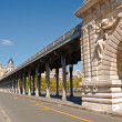 Bridge of Bir-Hakeim — Stock Photo