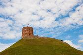 Gediminas tower — Stock Photo