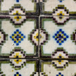 Portuguese tiles azulejos — Stock Photo