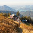 Restaurant on a mountain in austrian Alps — Stock Photo #35978219