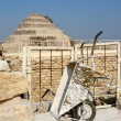 Stock Photo: The Step Pyramid Of Djoser in Saqqara