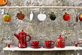 Handmade ceramic ware — Stock Photo
