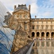Stock Photo: Musee du Louvre in Paris