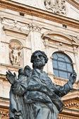 Statue of apostle near Saints Peter and Paul Church in Krakow — Stockfoto