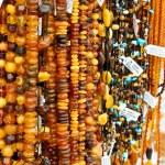 Amber beads — Stock Photo #41000513