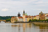 View of the old town of Prague — Stockfoto