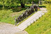 Holocaust memorial in Minsk, Belarus — Stock Photo