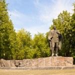 Постер, плакат: Statue of belarusian writer Janka Kupala