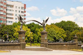 Military cemetery of the World war I in MInsk, Belarus. — Stock Photo