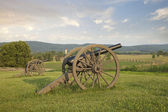 Cannons at Antietam (Sharpsburg) Battlefield in Maryland — Stock Photo