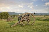 Cannons at Antietam (Sharpsburg) Battlefield in Maryland — Stock Photo
