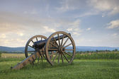 Cannon at Antietam (Sharpsburg) Battlefield in Maryland — Stock Photo