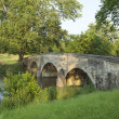 Burnside's Bridge at Antietam (Sharpsburg) Battlefield in Maryla — Stock Photo