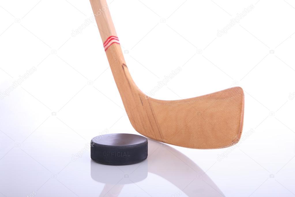 Porno avec des bâtons de hockey