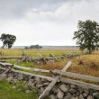 Stock Photo: Angle at Gettysburg, scene of Pickett's Charge