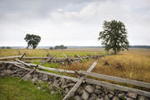The Angle at Gettysburg, scene of Pickett's Charge — Stock Photo