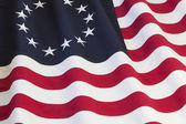 United States flag with thirteen stars — Stock Photo