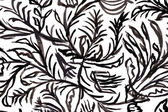 Black and white pattern. watercolor background. — Stock Photo