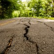 Road is disrepair — Stock Photo